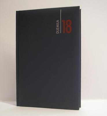 Agenda 2018 Giornaliera A6 17x11 Similpelle Blu Ultimi Design Diversificati