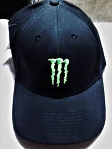 Monster Energy Athlete Only A-Flex One Size Ball Cap Official ... 181d56d1850