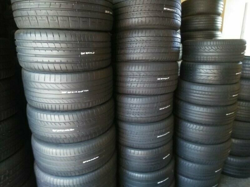 Variety of Tested and Guaranteed  Second Hand Tyres.