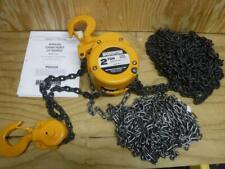 New Harrington Cf020 20 2 Ton 20 Ft Lift Manual Hand Chain Hoist Fast Ship