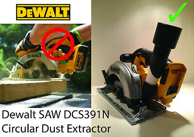 DEWALT DUST EXTRACTION ADAPTOR FOR DCS391 XR CIRCULAR SAW N104672