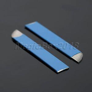 14 Pin Permanent Makeup Blade Manual Eyebrow Tattoo Needles For Microblading Pen