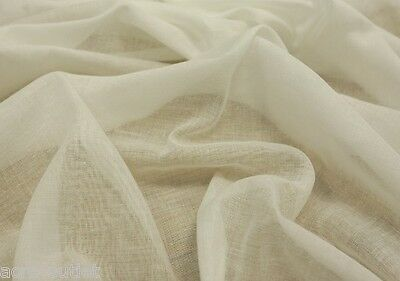 MUSLIN FABRIC 100% COTTON 1 Metre Premium Cloth Craft Material 140 Wide