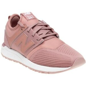 863bc7fc6 Image is loading New-WOMENS-NEW-BALANCE-PINK-247-NYLON-Sneakers-
