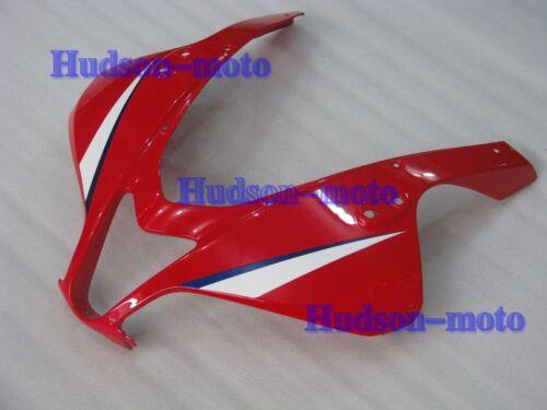Front Nose Cowl Upper Fairing For CBR600RR 2007-2012 CBR 600RR 07 08 09 Red//BL