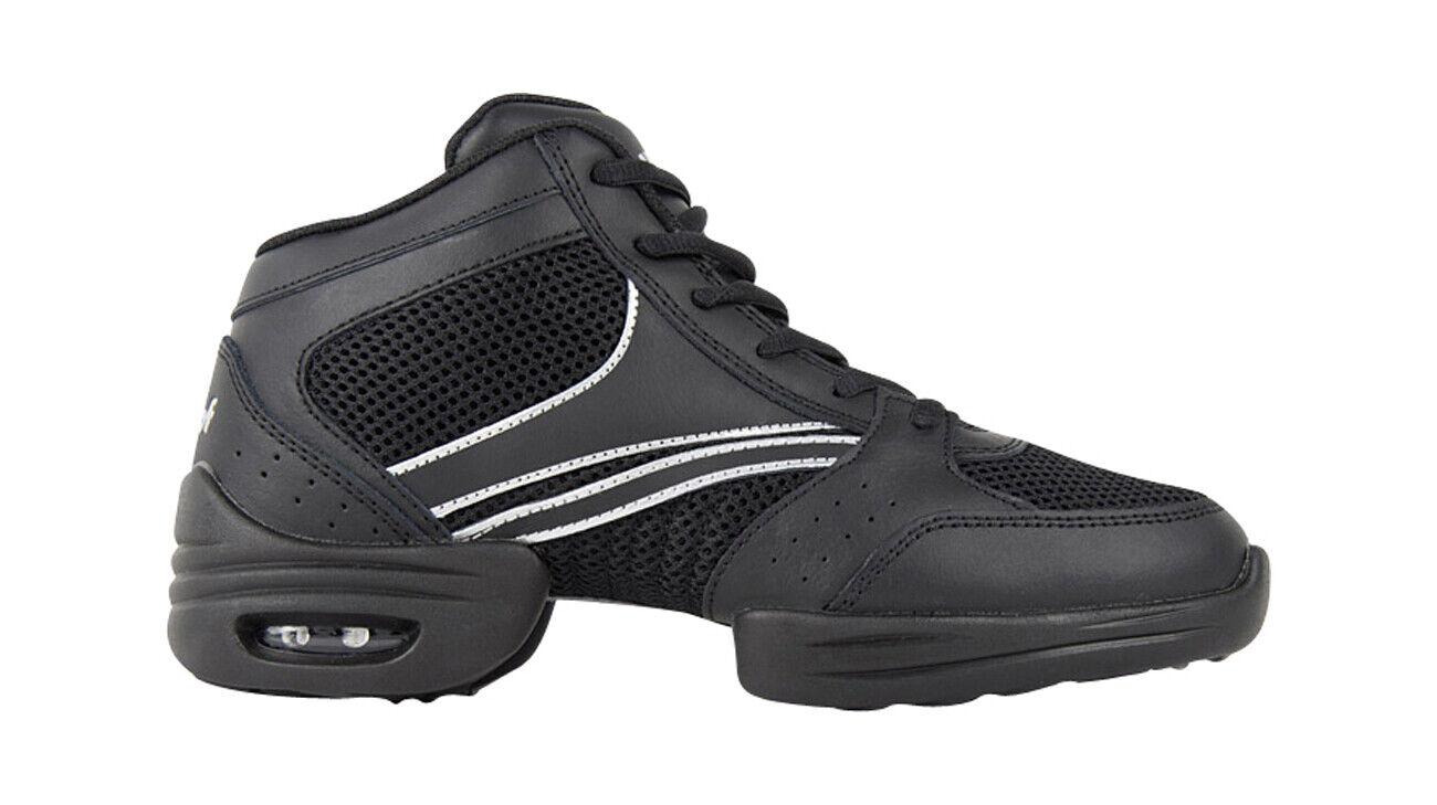 Rumpf 1595 Vision High Top Tanz Sport Fitness Turnschuhe schwarz oder schwarz-Silber     |  | Shop  | Um Zuerst Unter ähnlichen Produkten Rang