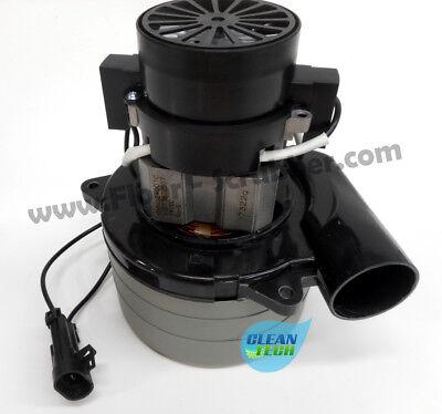 Vac Motor 24 Volt 3 Stage Fits Clarke Vision V /& 21i Part # 44917A /& 51049A