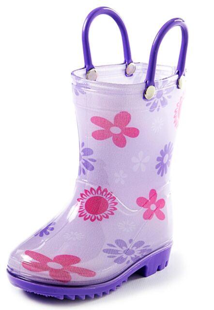LazyOne Girls Rise and Shine Rain Boots