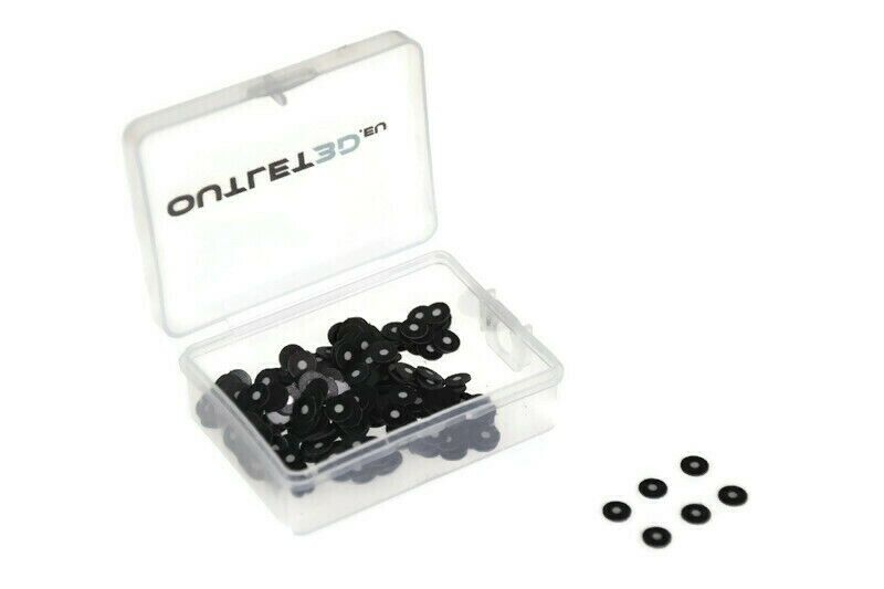 Magnetic reflective reference points 2mm, 300pcs - Markers - 3D Scanning
