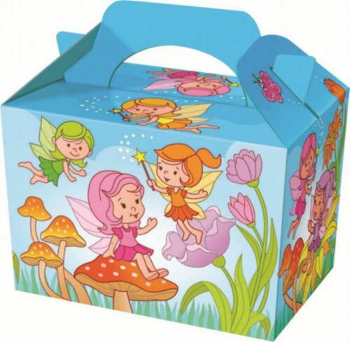 FAIRY FOOD BOX~FAIRIES SUMMER GARDEN~PICNIC BIRTHDAY PARTY~10 15 20~FREE PP UK