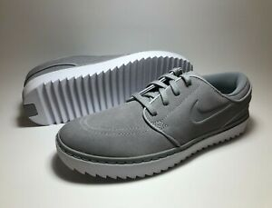 Nike-SB-Zoom-Stefan-Janoski-G-Golf-Shoes-Size-10-5-Wolf-Grey-AT4967-002-A1187