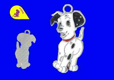 5 Dog Spot Enamel 31 x 16 mm  A686 P & P £1 per delivery.