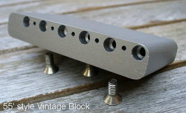 Vintage Pre-CBS 54 55'style Steelblock to fit Fender Strat®