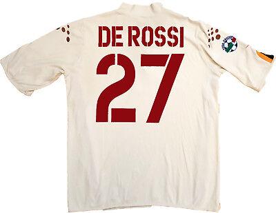 Roma shirt de rossi 2003 2004 Diadora L Mazda Jersey Home Original Series | eBay