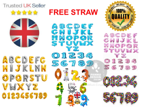 """Silver Gold Blue/&Pink Letter 16/"""" Self-inflating Foil Balloon Custom 0-9, A-Z"""