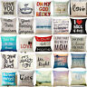 Pop Art Love Cat Beach Pillow Cover Cotton Linen Sofa Cushion Covers Pillow Case