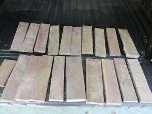 Black-Walnut-DIY-Craft-Wood-Blank-Lot-of-20-Scrap-Pieces-Pen-Blanks-amp-More-1