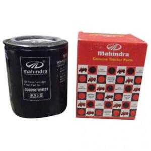 Details about Mahindra OEM 006000789B91 ENGINE Oil Filter (Spin On)