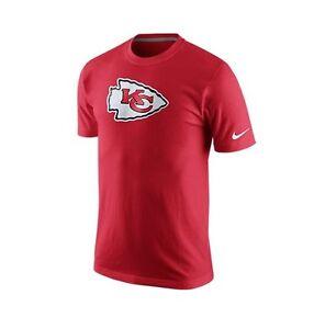 Kansas city chiefs mens shirt fast logo t shirt by nike red for Kansas city chiefs tee shirts