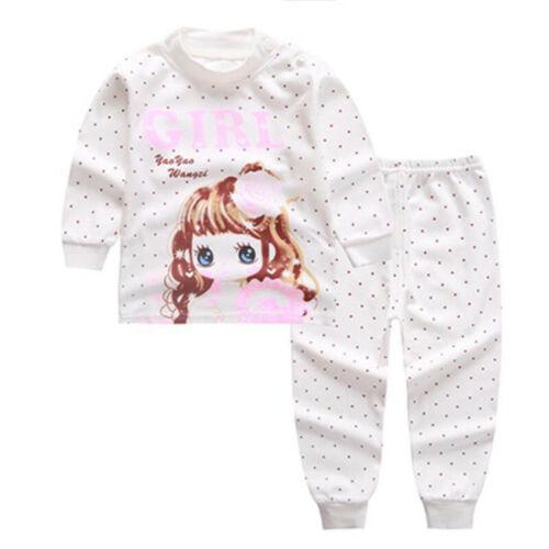 boys nightwear girls christmas pajamas kids pajama sets children sleepwear 1t-5t