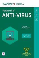 Kaspersky Anti-virus 2016 3-pc - Free Upgrade To 2017 Version