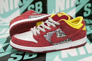 huge selection of edb6a 6a503 Image is loading Nike-SB-Dunk-Low-Premium-QS-034-Crawfish-