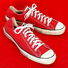 Vintage USA-MADE Converse All Star Chuck Taylor shoes red size 12.5