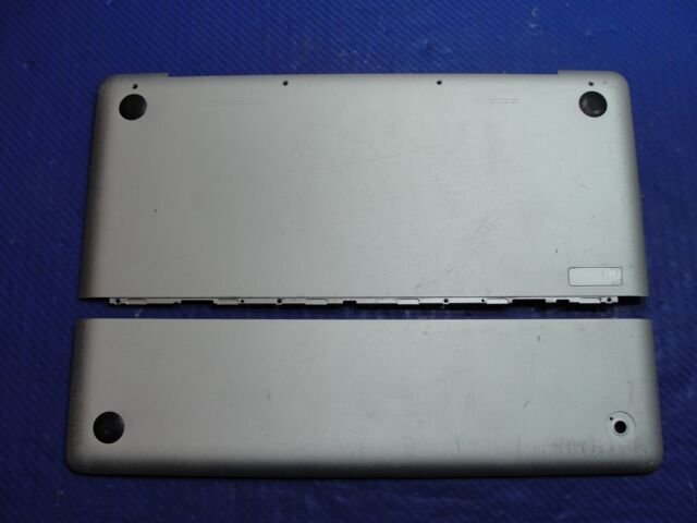 "GR/_B LOWER BOTTOM CASE MB467 Apple MacBook Unibody 13/"" A1278 Late 2008 MB466"