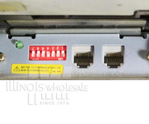 Epson TM-U200B POS Printer Auto-Cut Cool White Micros IDN Interface