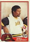 1981 Topps Jerry Mumphrey #556 Baseball Card