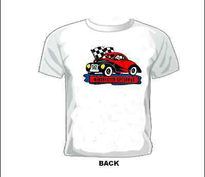 Vintage Race T-shirt Hardtop WINCHESTER SPEEDWAY