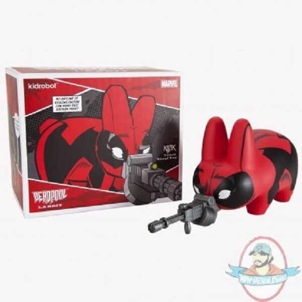 Marvel Deadpool Labbit 7 inch Vinyl Figure by Kidrobot
