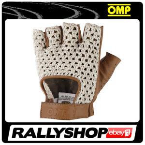 OMP TAZIO Karthandschuh Handschuhe Professionell  Motorsport Braun Sport