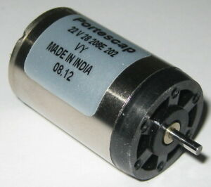 Portescap-24-VDC-22mm-D-Motor-6340-RPM-22V28-Precision-DC-Motor-2mm-Shaft