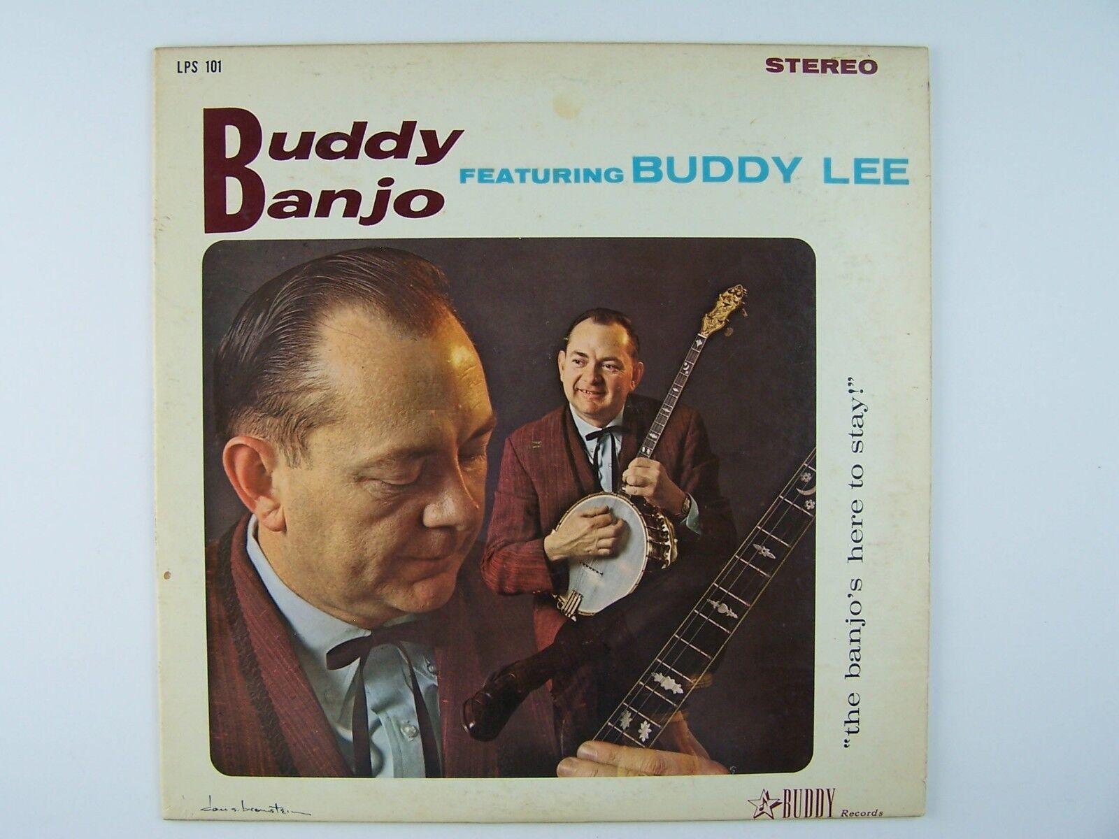 Buddy Lee - Buddy Banjo Featuring Buddy Lee Vinyl LP Re