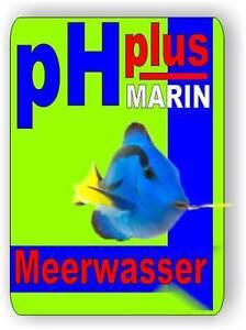 ph plus marin 500 ml erh ht den ph wert im meerwasser aquarium ebay. Black Bedroom Furniture Sets. Home Design Ideas