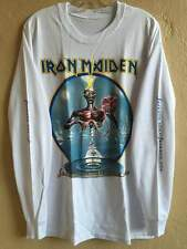 Iron maiden long sleeve L shirt Doro Helloween Dio ACDC Heavy metal Judas priest