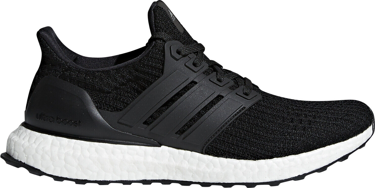 11158463ca1a1 adidas Ultraboost W 4.0 Primeknit Black White Women Running Shoes ...