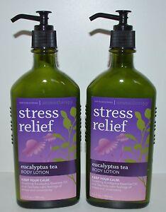 2 Bath Amp Body Works Aromatherapy Stress Relief Eucalyptus