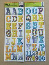 Main Street Wall Creations Removable Jumbo Upper Case Letters Stickers Decal Part 37