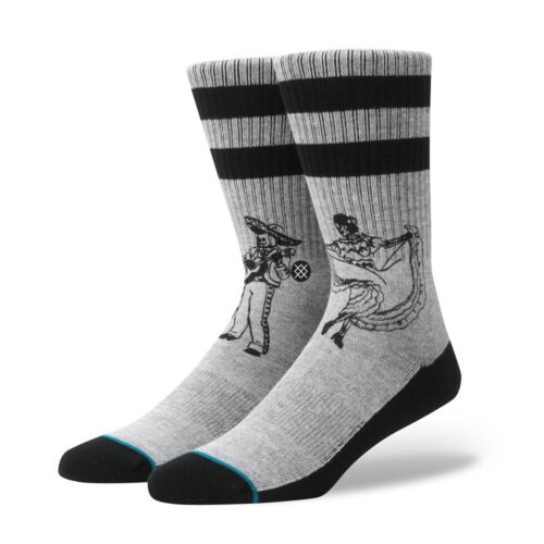 Stance Flamencos Socks Grey Socken Freizeitsocken Sneakersocken Grau