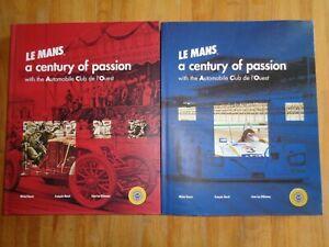 Intelligent Le Mans A Century Of Passion 24 Heures Automobile Club De L'ouest 1906 / 2006 Jolie Et ColoréE