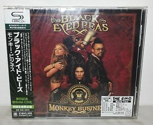 SHM-CD-THE-BLACK-EYED-PEAS-MONKEY-BUSINESS-JAPAN-UICY-91498-NUOVO-NEW