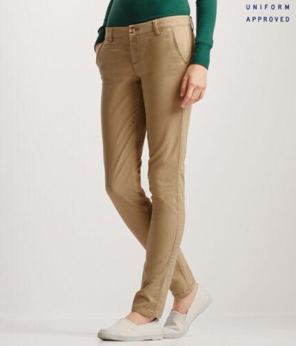 Skinny Curvy or Classic AEROPOSTALE Women/'s Twill Work /& School Uniform Pants