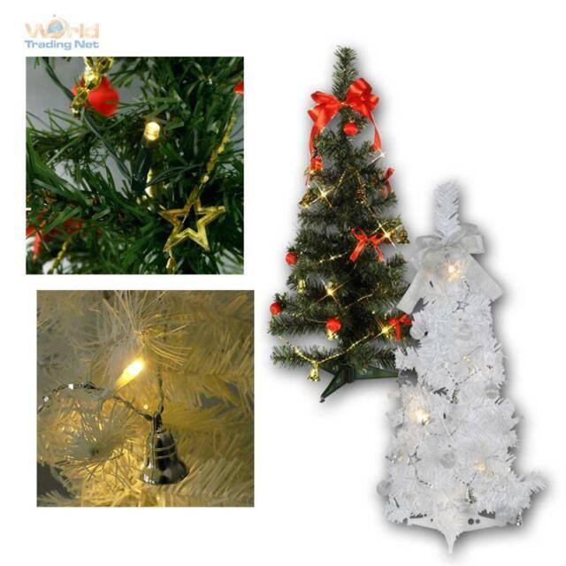 Weihnachtsdeko Günstig Auf Rechnung.Weihnachtsbaum 60cm Beleuchtet Mit Led Lichterkette Timer Deko Christbaum