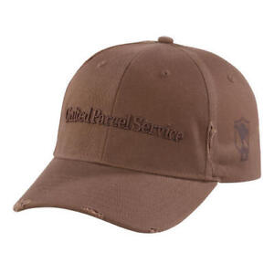 Details about UPS UNITED PARCEL SERVICE MENS NEW BROWN FOUNDER QUOTE  BASEBALL CAP HAT