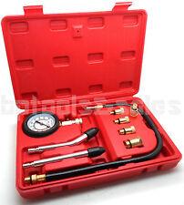 9 Pc Spark Plug Cylinder Compression Tester Test Kit Professional Gas Engine New
