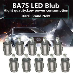 10-un-Tipo-Lucas-12V-BA7S-LLB281-LED-Luz-De-Tablero-Tablero-de-Automovil-Bright-side