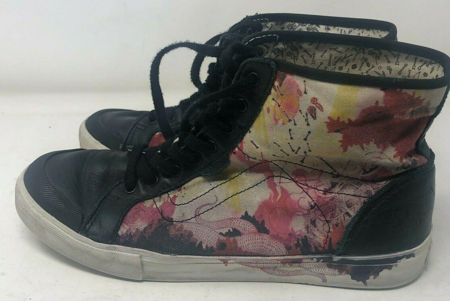 2010 Hannah Stouffer X Vans wellesey obsessionnel de combustion pour femme chaussures rares