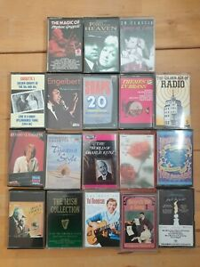 audio music cassette tapes bundle joblot x 18 as pictured mct05